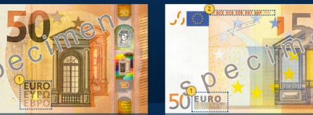 Come riconoscere le 50 euro false?