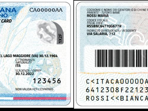 I vantaggi della carta di identità elettronica