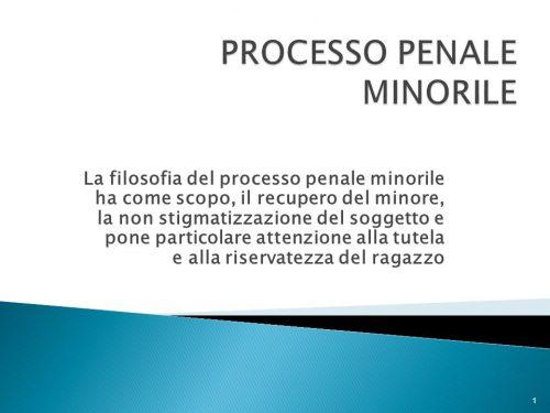 Il minore e l'equità processuale